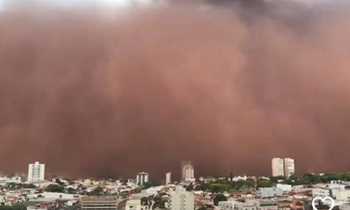 Por que estão ocorrendo nuvens de poeira no Brasil?